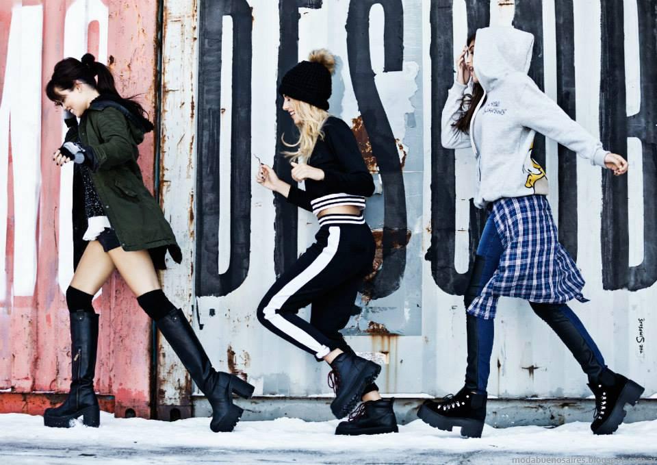 Looks 47 Street otoño invierno 2015. Moda otoño invierno 2015 juvenil.