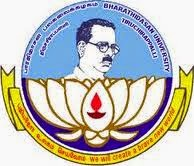 Bharathidasan University Time Table 2015