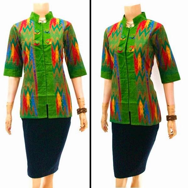 Blouse Batik Rang Rang