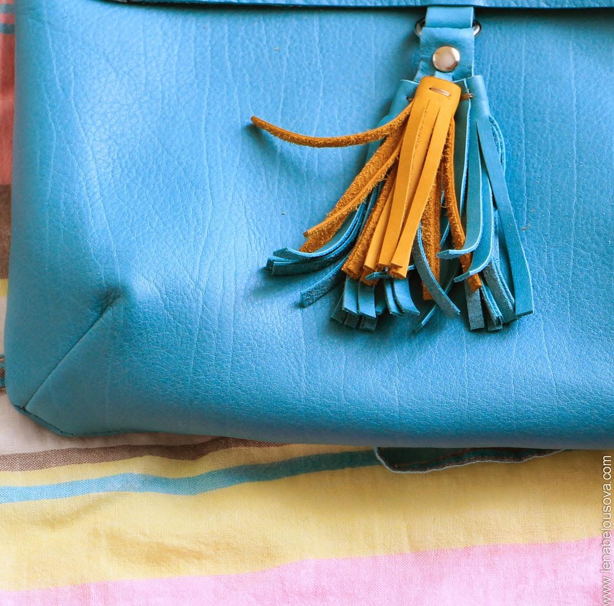 Яркая летняя женская сумочка
