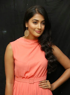 Actress Pooja Hegde Pictures in Short Dress at Oka Laila Kosam Prerelease Press Meet  14).jpg