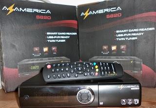 NOVA ATUALIZAÇÃO AZAMÉRICA S820 HD. DATA: 06/11/2013. S820_capa