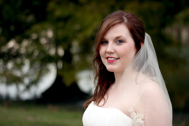 Bridal Picture Park Setting