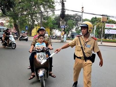 Những mức giá bị phạt khi tham gia giao thông đường bộ