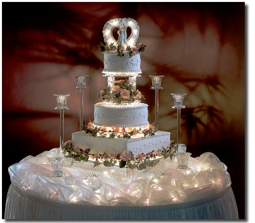 Elegant Wedding Cakes Engagement
