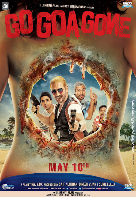 First Look Poster - Go Goa Gone - India's First Zombie Comedy Movie
