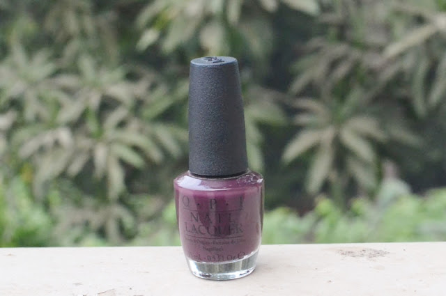 "OPI Naipolish or Nailpaint in the shade ""Sleigh Parking Only"" India"