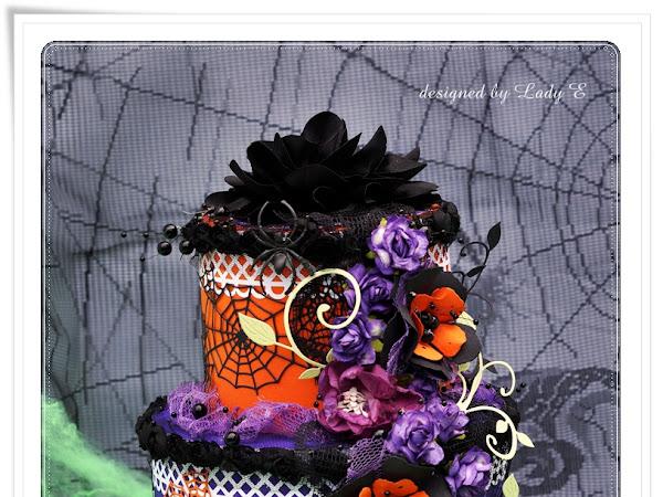 Halloween cake for SL Challenge #4