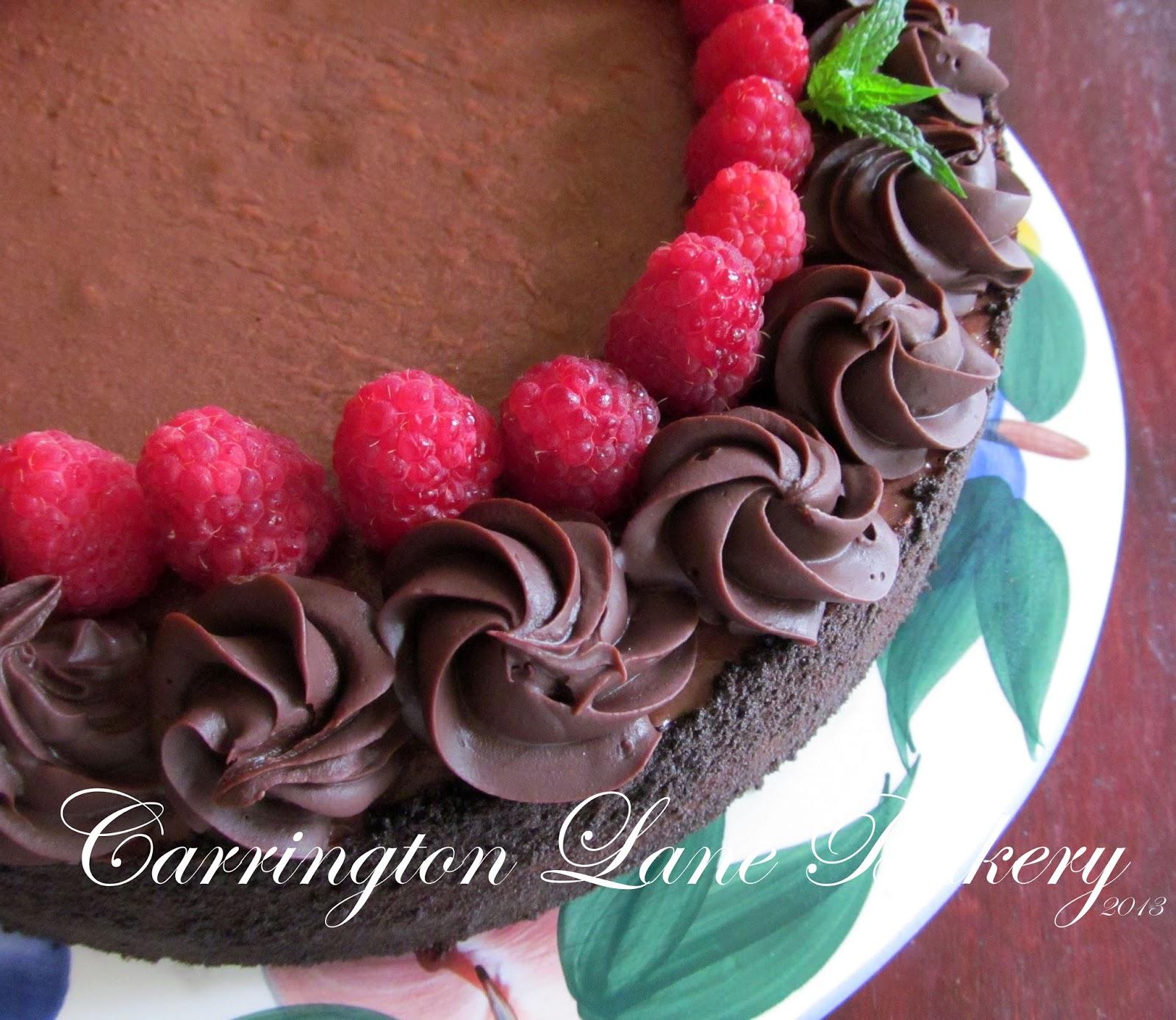 Carrington Lane Bakery Moms Birthday Chocolate Cheese Cake