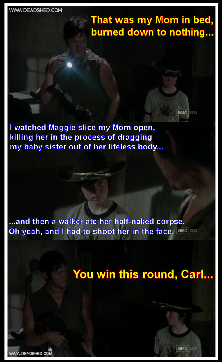 Where s carol and hello aunt alicia the walking dead 3x06 memes