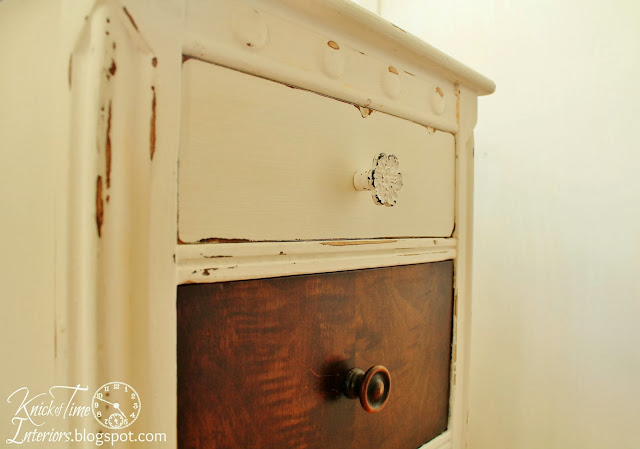 Chalk Paint Dresser Furniture Makeover via KnickofTimeInteriors.blogspot.com
