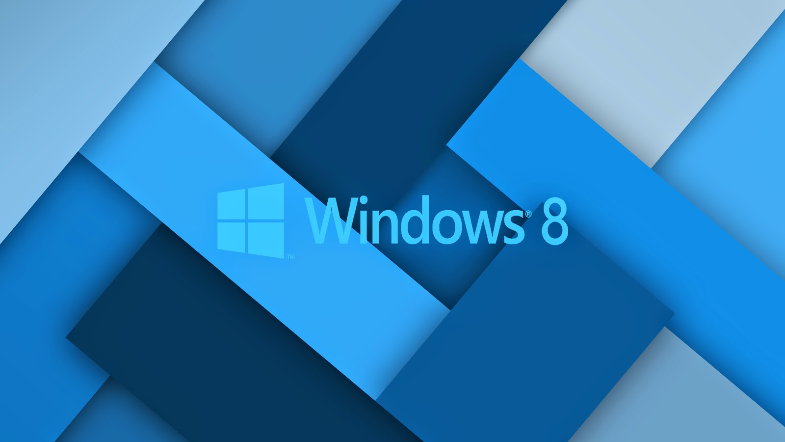 Blauen Windows 8 wallpaper