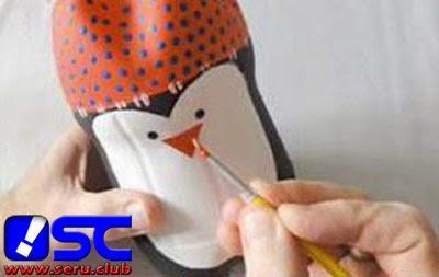 mata dan paruh penguin