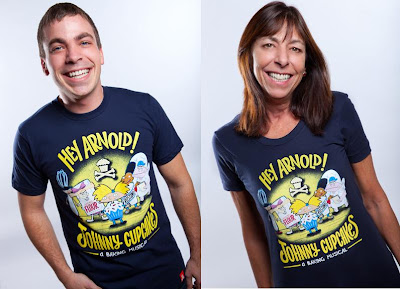 Nickelodeon x Johnny Cupcakes Collection Episode 3 - Hey Arnold! T-Shirts