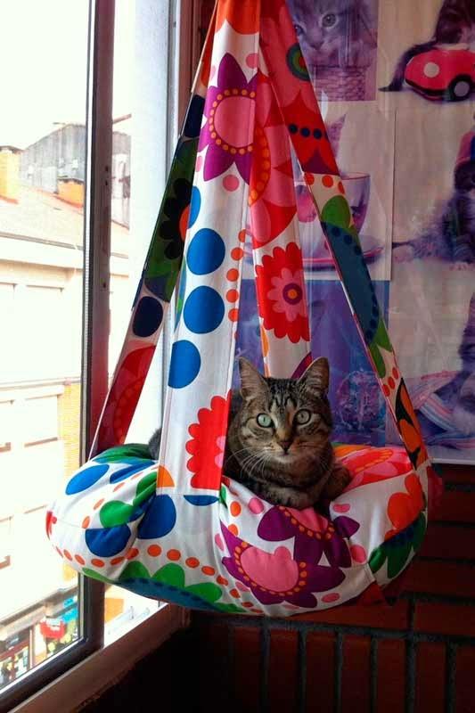 Columpio felino de Gatunea tu vida