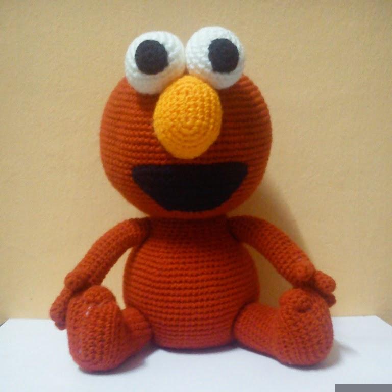 Ami Outlet Free Crochet Pattern Elmo