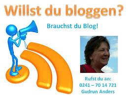 Willst auch du bloggen?