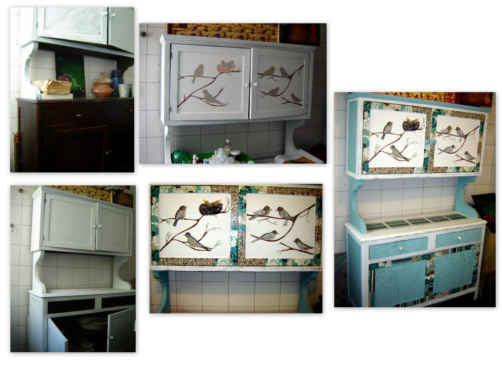 Como en cuentos mueble restaurado para la cocina - Mueble para la cocina ...