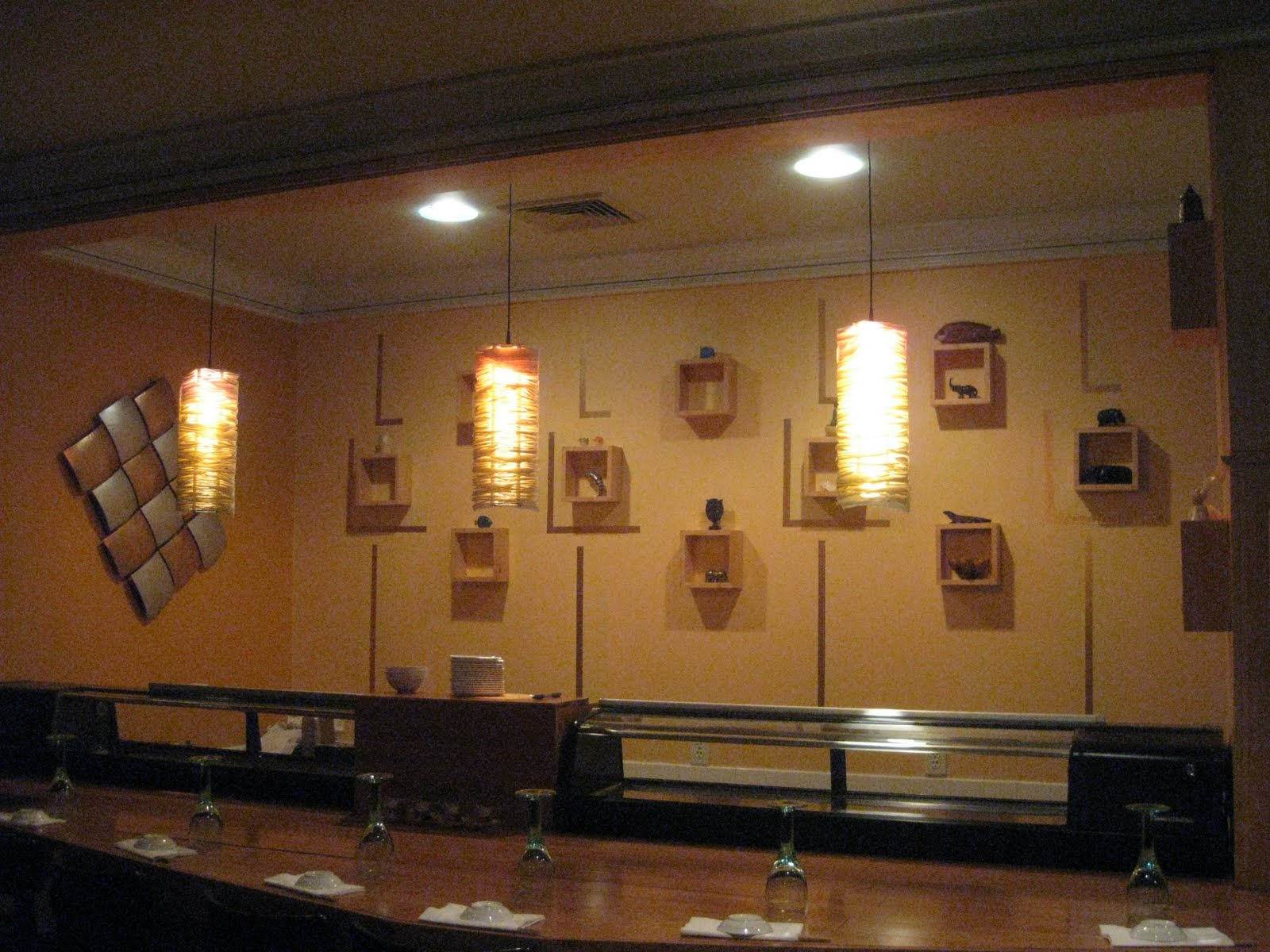 Sushiandpassion New Sushi Bar Wall Design