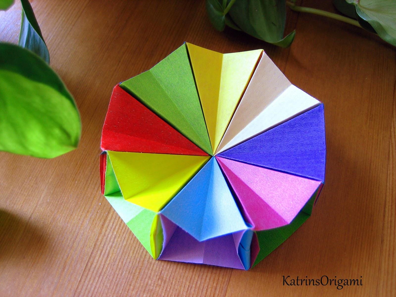 origami die kunst des papierfaltens origami magic circle