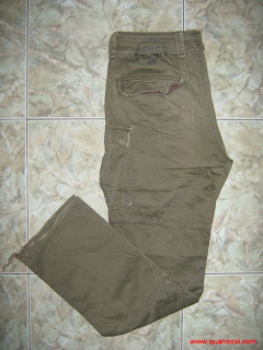 Quần kaki túi kiểu 2012
