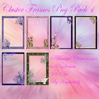 Cluster frames pack 1, Digital backgrounds, digital scdigital fantasy backgrounds,scrapbook backgrounds, digital background images