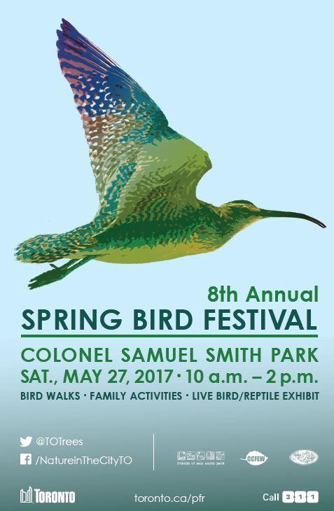 SPRING BIRD FESTIVAL - MAY 27
