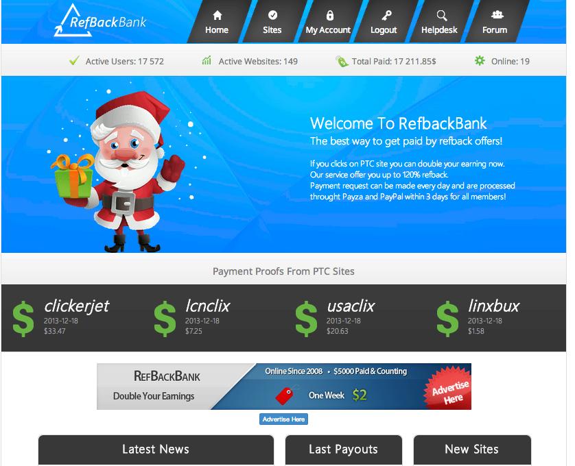 RefBackBank Home