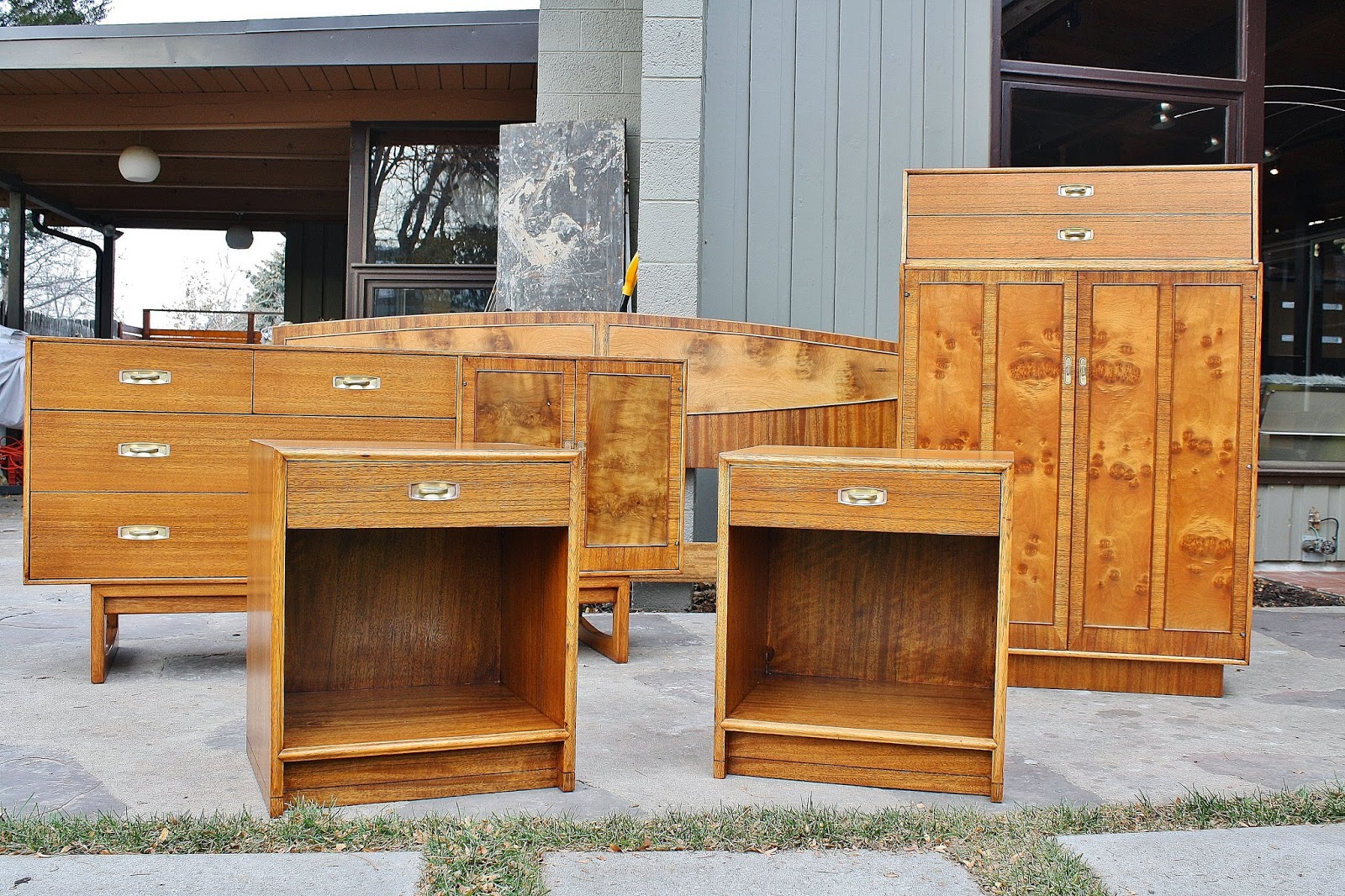 modwerks drexel composite bedroom set drexel bedroom set dresser with mirror chest of drawers