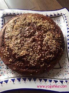 gâteau chocolat farine de pois chiche