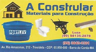 A CONSTRULAR MATERIAIS DE CONSTRUÇÃO