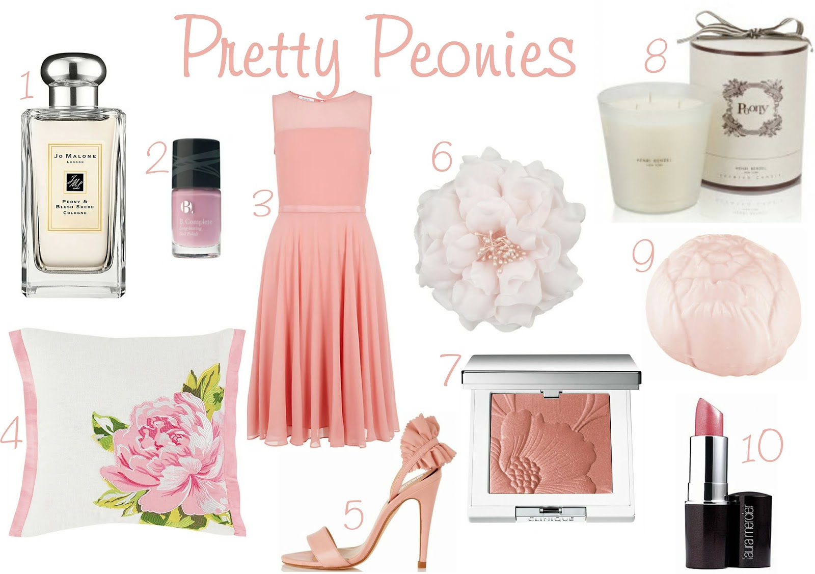 Pretty Peonies - Shop the Look