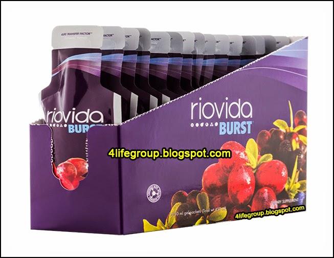 foto 4Life Transfer Factor Riovida Burst (Bungkusan Baru)