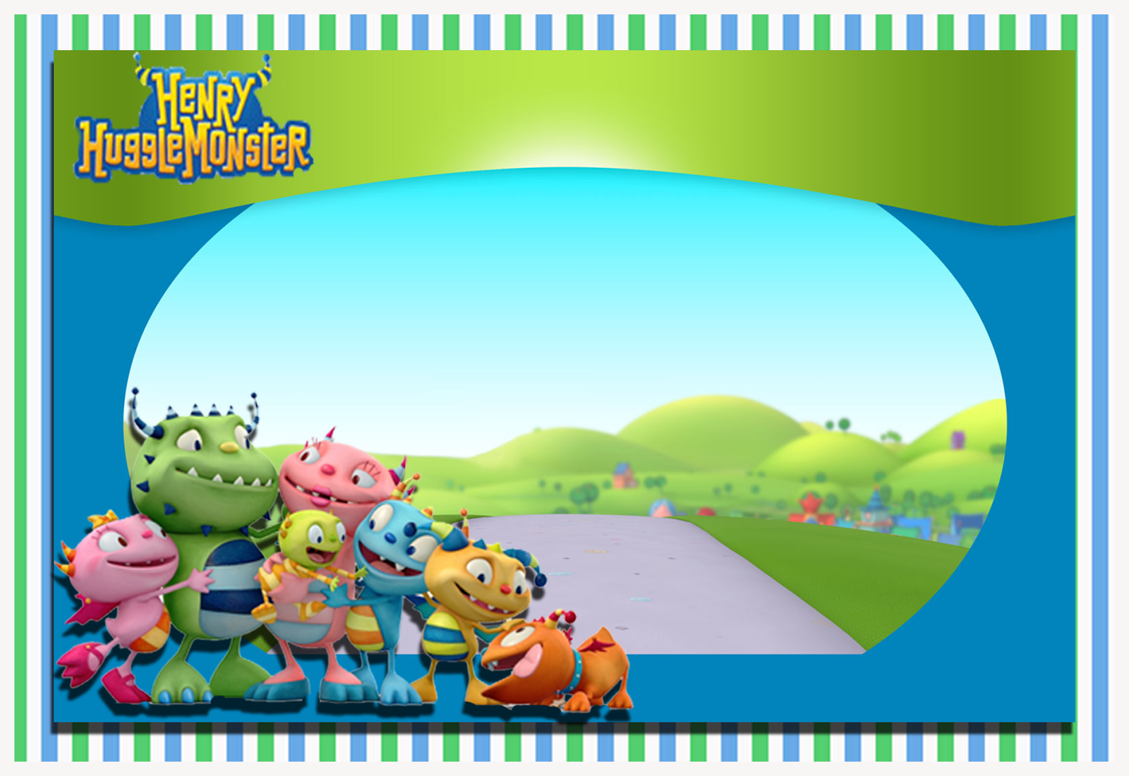 kit de henry hugglemonster - photo #5