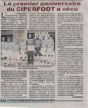 Zeitungsartikel aus dem Kongo