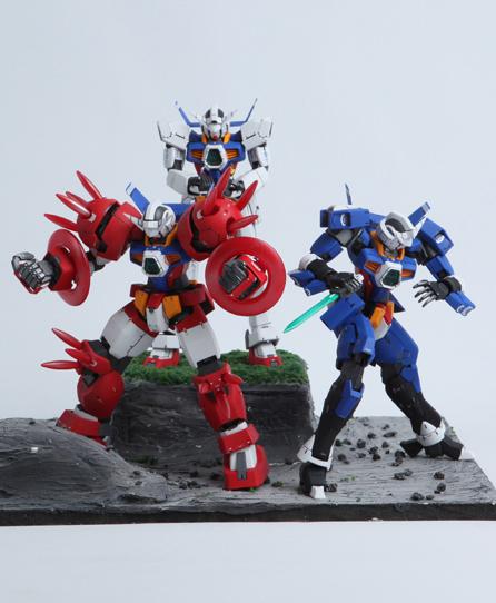 Gundam guy gunpla builders world cup 2012 korea gundam age