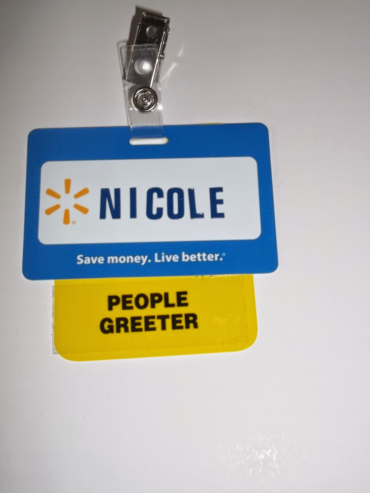 Once Upon A Dollie Greeter Of People - Employee name tags template