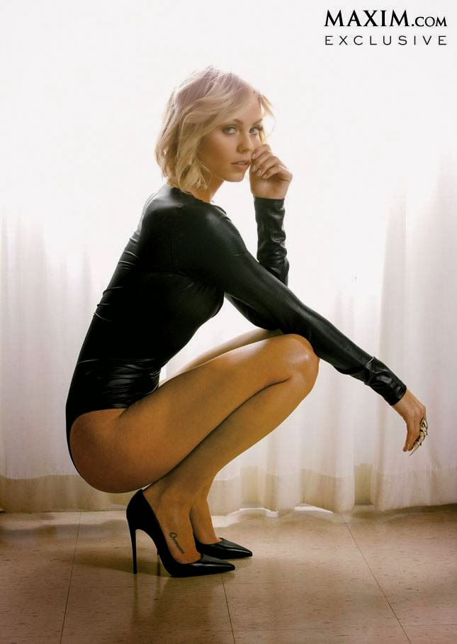 "Laura Vandervoort ""Maxim"" Magazine March 2014 Photos 