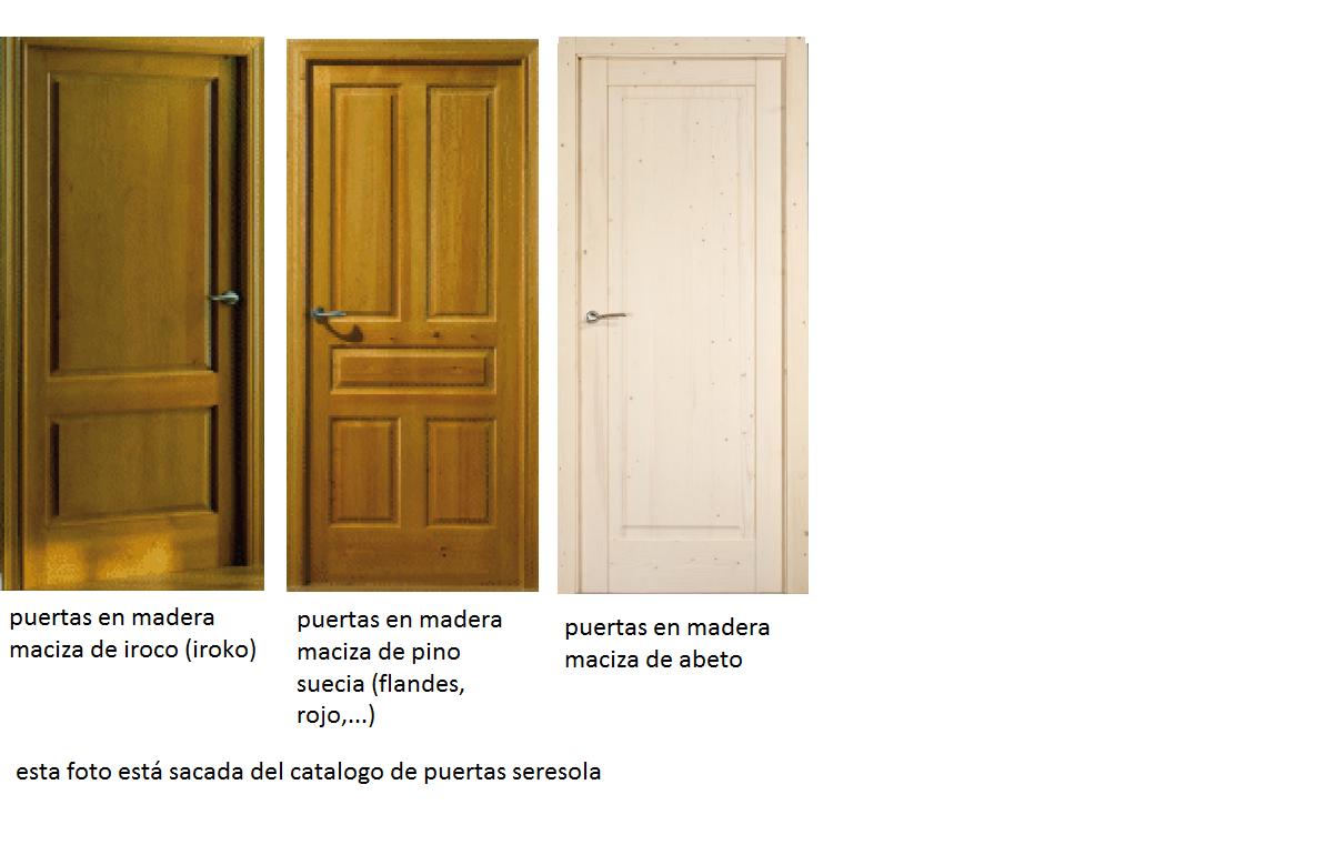 Puertas madera maciza imagui for Puertas entrada madera maciza precios