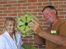 Master Gardeners cheerfully clean your bird feeders