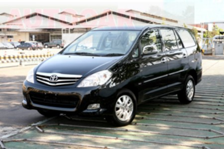 New Toyota Innova to arrive in India by 2012