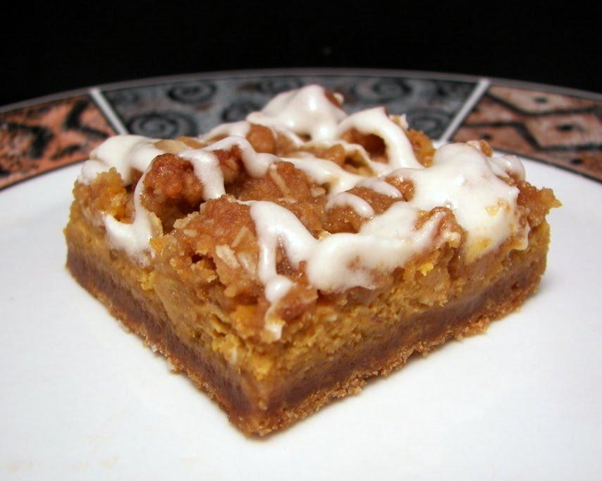 Old-Fashioned Bake Sale ~ Gingerbread Pumpkin Bars ~ Faithfulness Farm