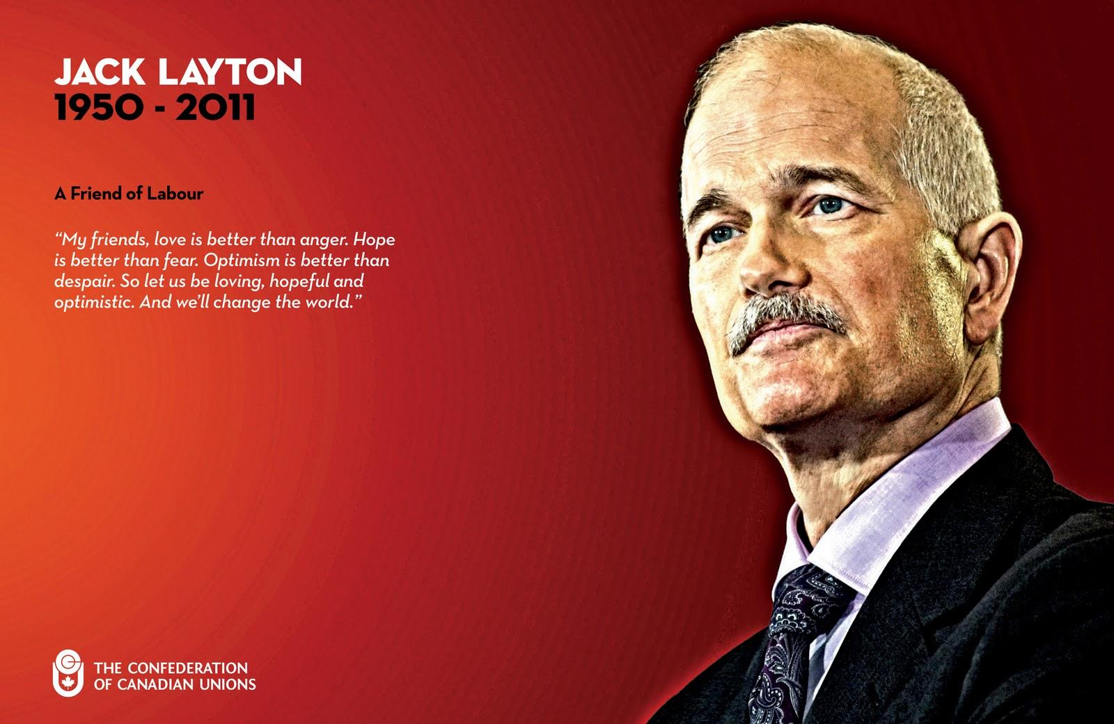 Jack Layton Net Worth
