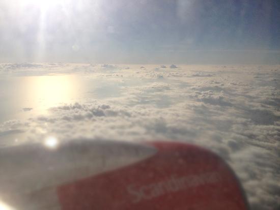 SAS flygplan