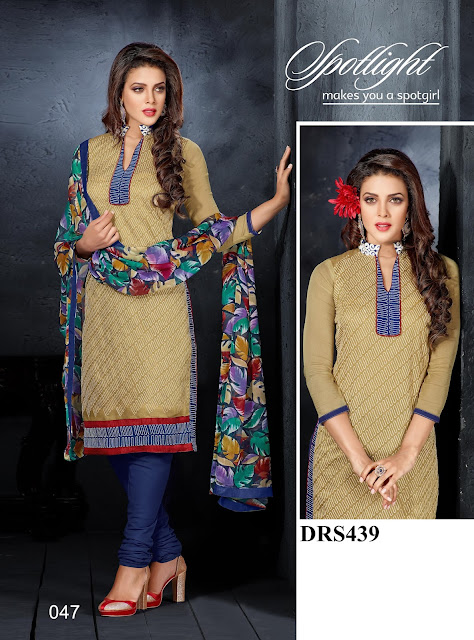 New Chanderi Cotton Dress Material – Wholesale