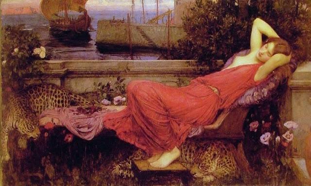 D.W.C.Pre-Raphaelite style - Painter John William Waterhouse