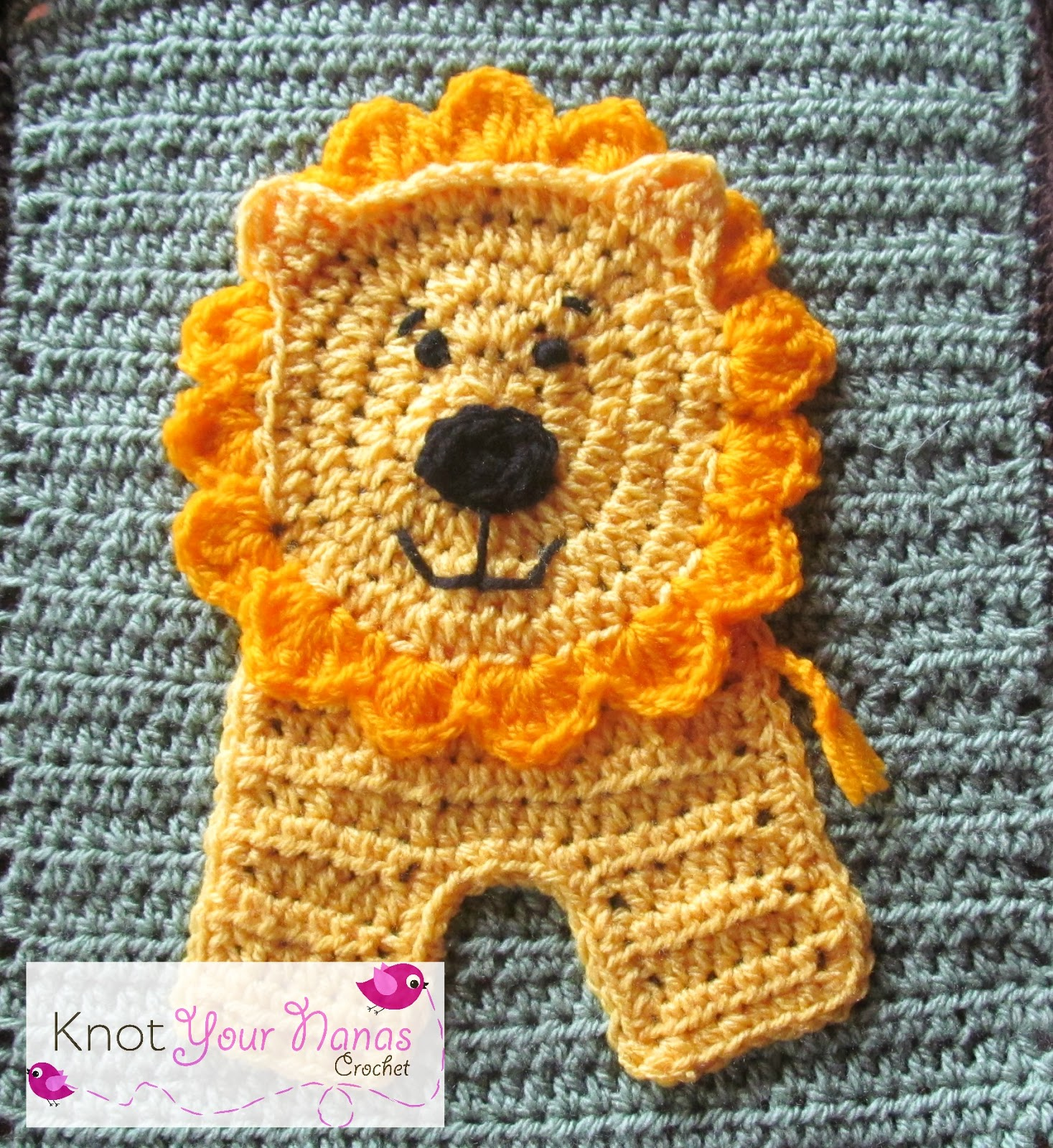 Knot your nanas crochet zoo blanket bankloansurffo Images