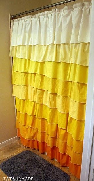 Decoro sin decoro cortina de ducha con volantes for Cortinas con volantes