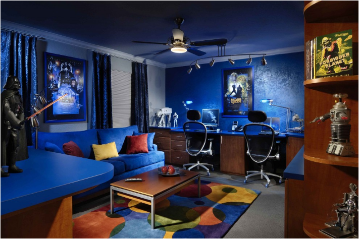 Cool dorm rooms ideas for boys room design ideas Cool gaming room designs