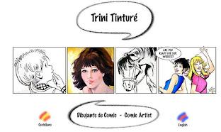 Trini Tinturé. Dibujante de cómic